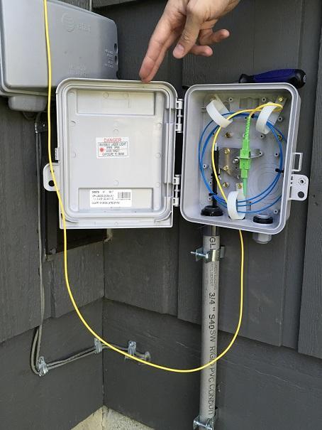 100% Fiber to Your Home - Mainstream Fiber Networks